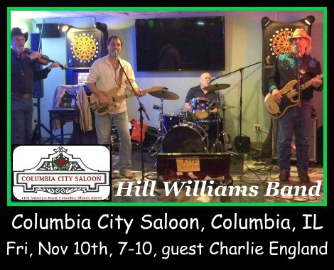 Hill Williams Band 11-10-17