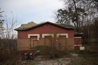 Pokrovskoye-Streshnevo abandoned station building