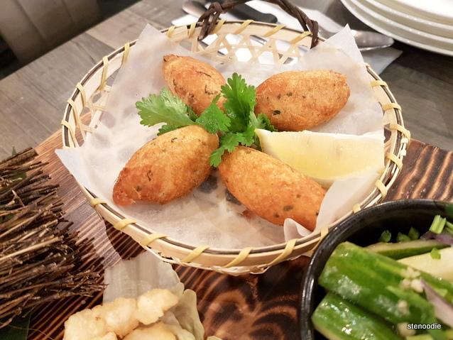 Macao Cod Fish Potato Ball