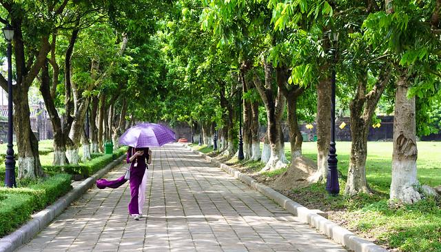 Hue - Walking in Imperial City