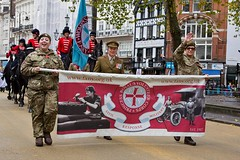 First Aid Nursing Yeomanry (FANY), Lord Mayor's Show, London, 11 Nov 2017