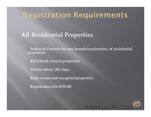 Los Angeles County Propety Preservation
