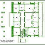 Denah Lantai 2 (dua) Gedung A Gedung Utama (Depan)