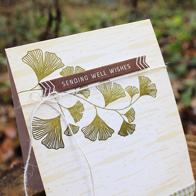 Ginkgo Well Wishes Card 2