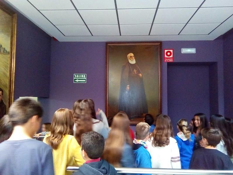 Visita al museo del Padre Luis Amigó en el Seminario - 2017