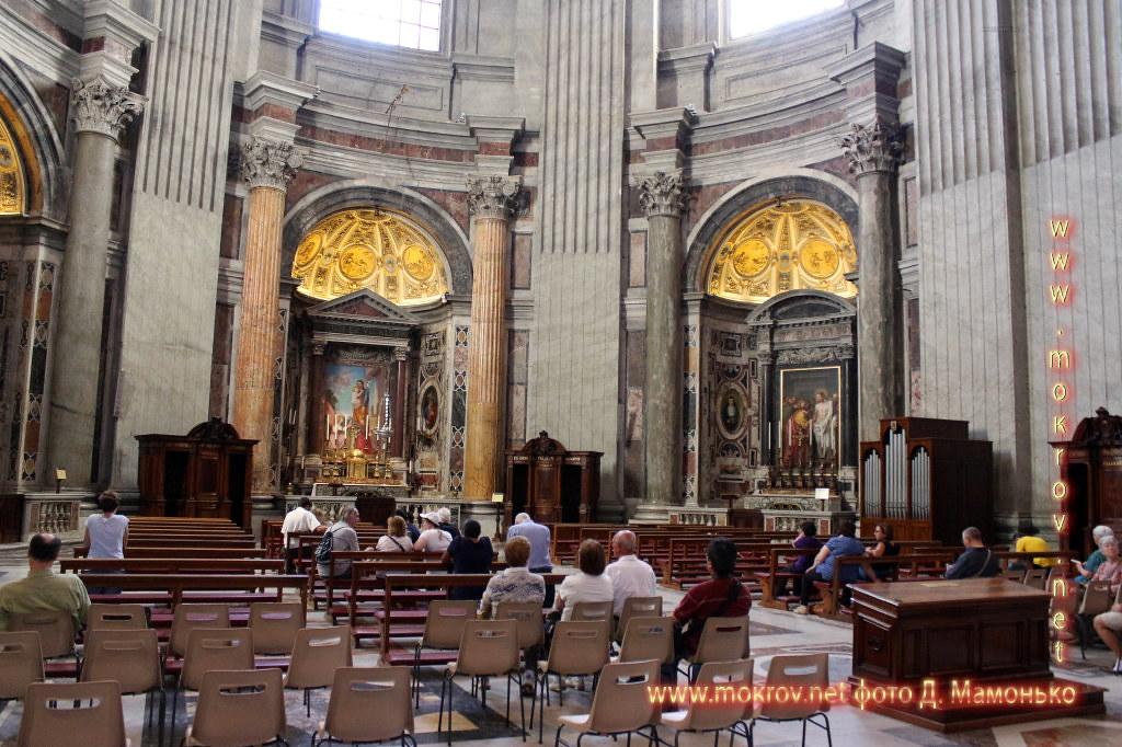 Исторический центр Государства — города Ватикан фотозарисовки