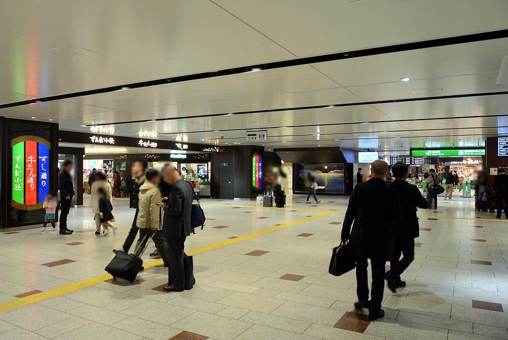 仙台車站3F牛舌一條街