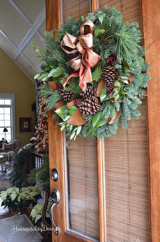 fresh wreath by lynch creek farm housepitality designs