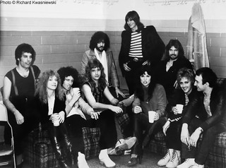 Queen backstage w Heart @ St Louis - 1978