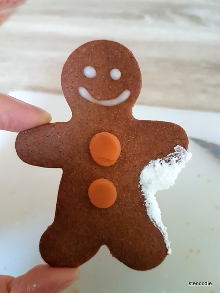 Gingerbread Man on Croissant