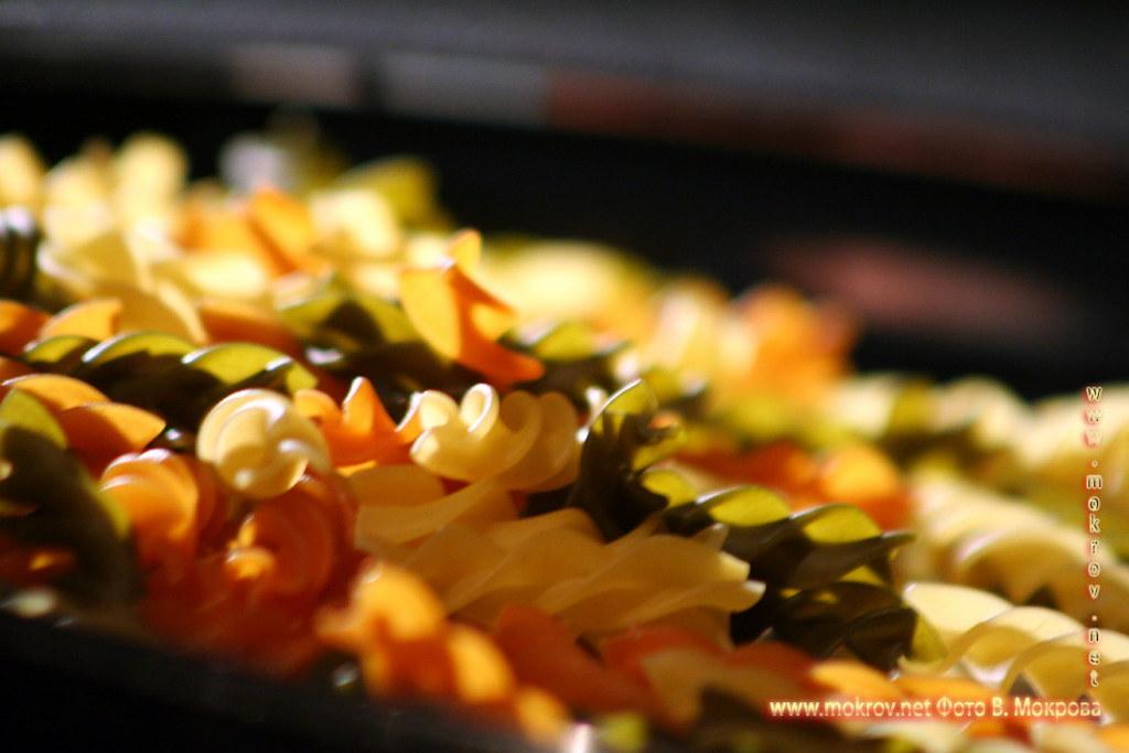 Цветные макароны