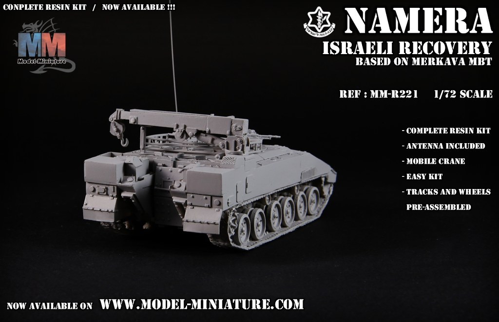 0c21036970eb Namera   Nemmera - Israeli recovery tank based on Merkava MBT