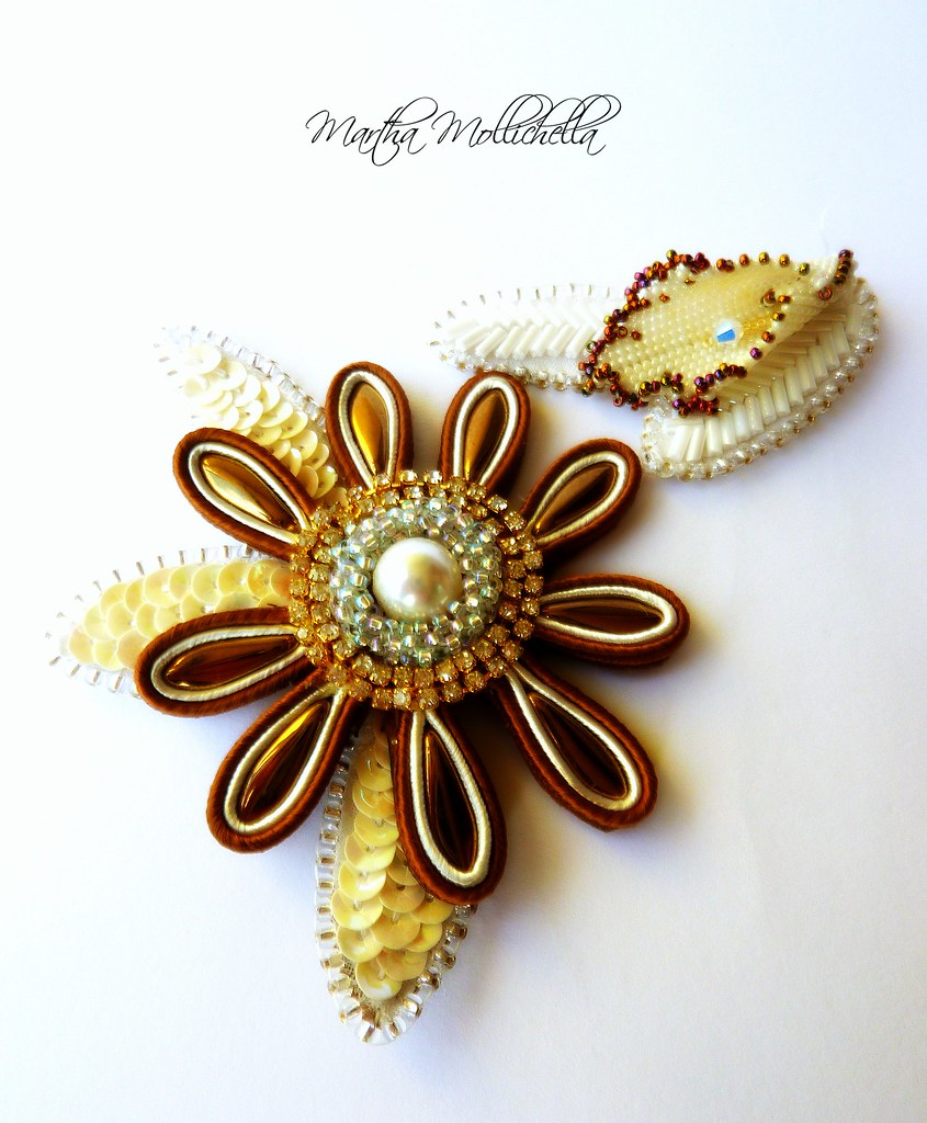 #spille #brooches #luneville #soutache #tessitura #ricamo #beadembroidery #tambourbroderie