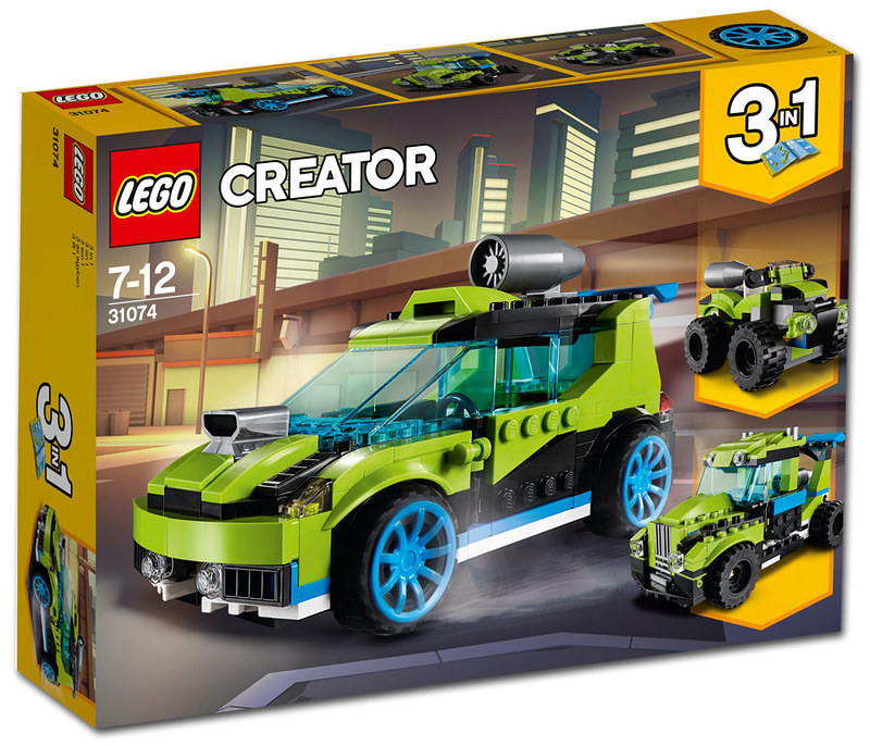 Rocket Rally Car (30174)