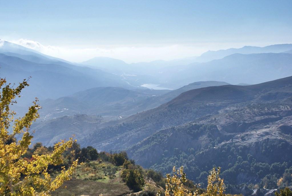 En route pour le village haut perché de Cáñar dans la Sierra Nevada.