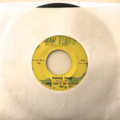 ALVIN CASH & THECRAWLERS:TWINE TIME(JACKET A)
