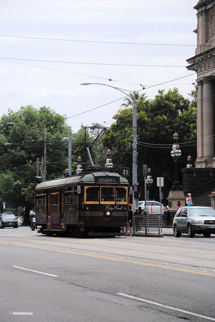 Historiallinen raitiovaunu, Melbourne