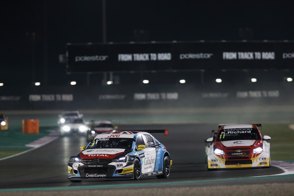 03 CHILTON Tom, (gbr), Citroen C Elysee team Sebastien Loeb Racing, action during the 2017 FIA WTCC World Touring Car Championship race at Losail  from November 29 to december 01, Qatar - Photo Jean Michel Le Meur / DPPI
