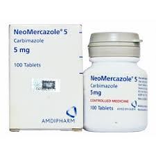MERCAZOLE 5MG TAB