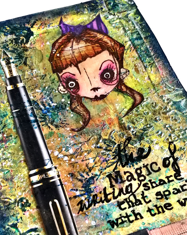 Art Journal: the magic of writing