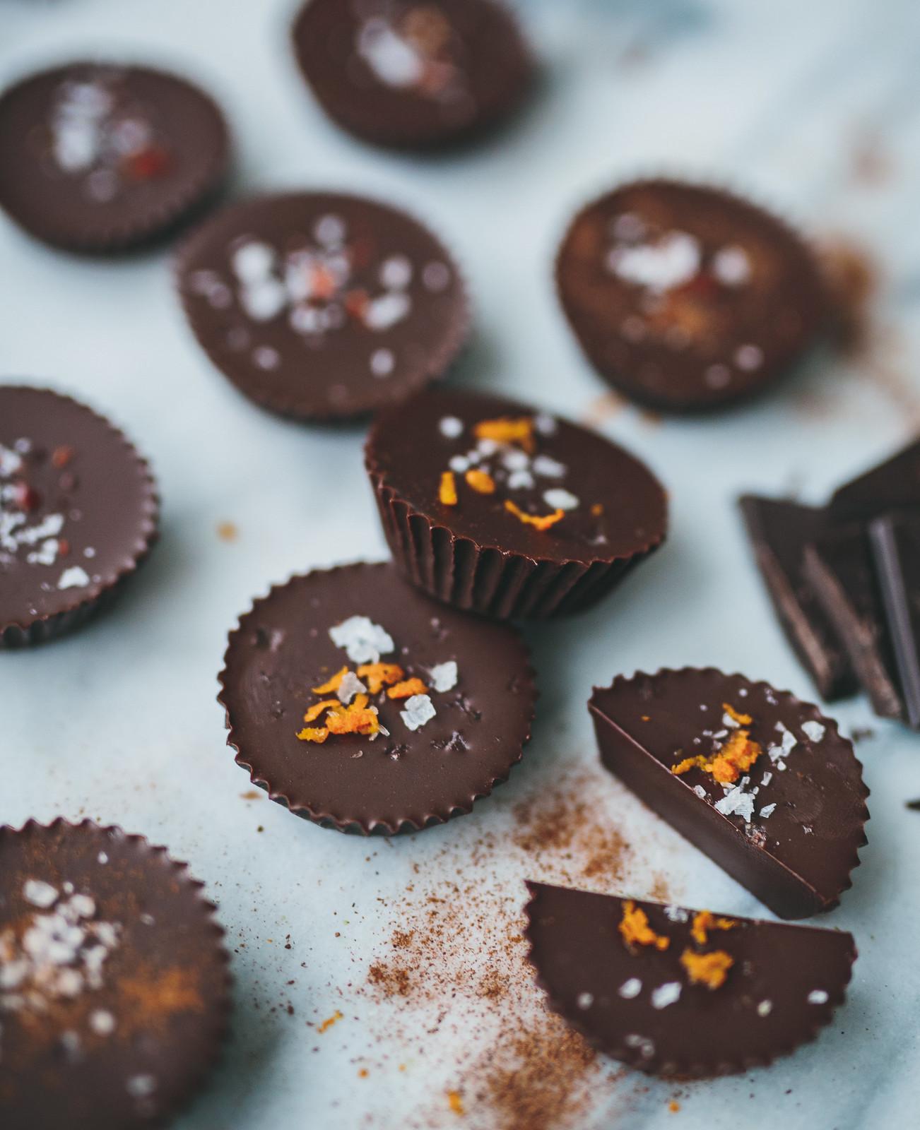 ischoklad på kokosolja och mörk choklad - karinevelina.se