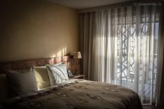 Schlafzimmer in einem Appartement