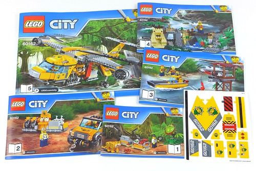 LEGO City Jungle 60162 Jungle Air Drop Helicopter 007