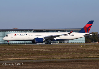 F-WZHD A350 Delta