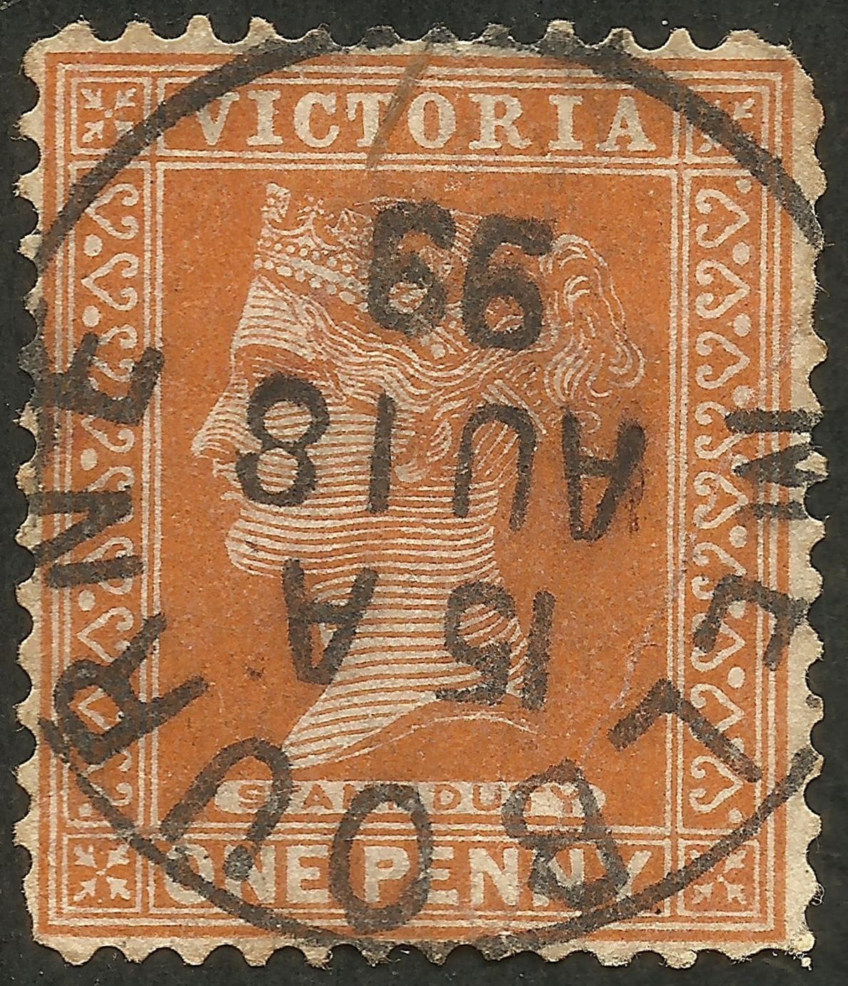 Victoria - Scott #169 (1890)