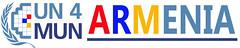 UN4MUN Armenia logo