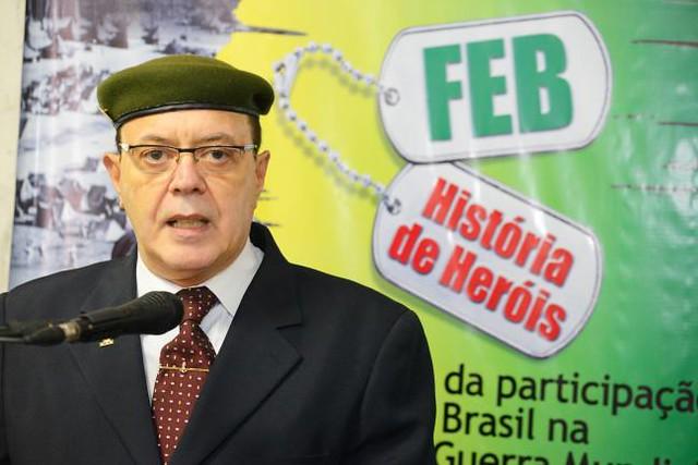 Jairo Junqueira foi organizador de exposição sobre Exército do Brasil na Assembleia Legislativa de São Paulo - Créditos: Alesp