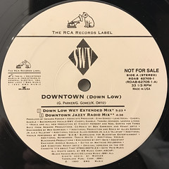 SWV:DOWNTOWN(DOWN LOW)(LABEL SIDE-A)