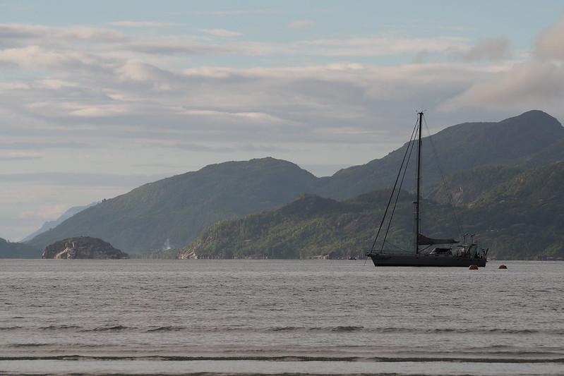 View from Anse à la Mouche on Mahé