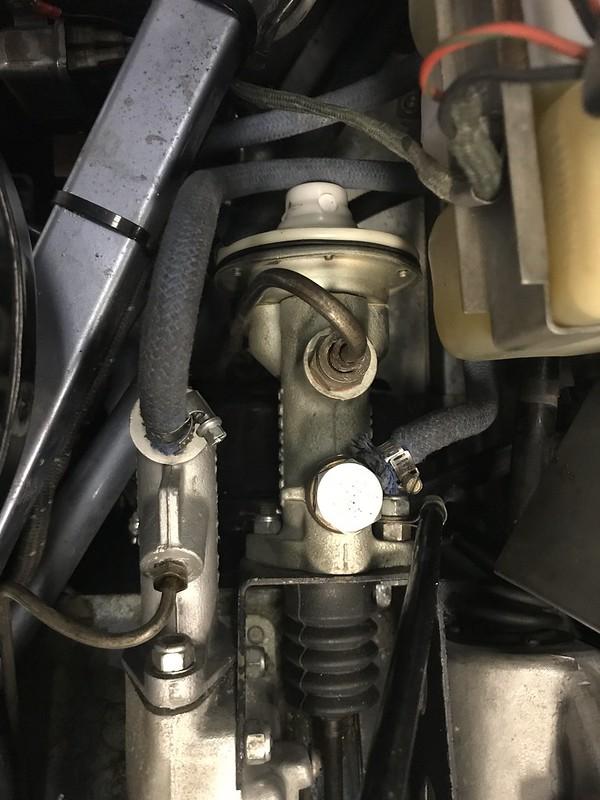 E-Type Master Cylinder