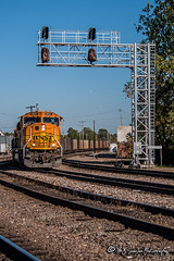 BNSF 9937 | EMD SD70MAC | BNSF Thayer South Subdivision
