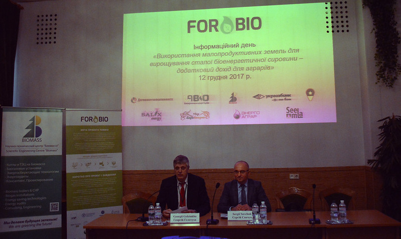 FORBIO InfoDay, 12 December 2017, Kyiv (Ukraine)