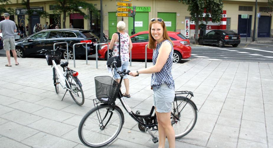 Bijzondere bezienswaardigheden in Valencia: fietsen in Valencia | Mooistestedentrips.nl