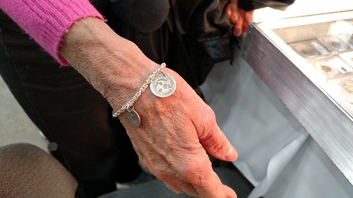 Bobbie Scholley's Love Token bracelet
