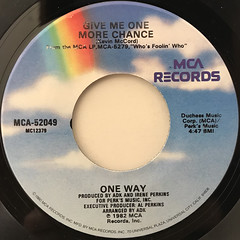 ONE WAY:CUTIE PIE(LABEL SIDE-B)