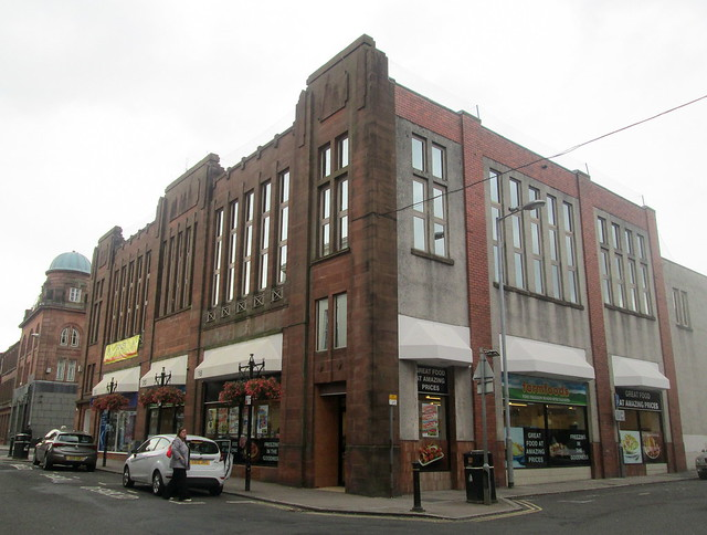 Former County House, Dumfries,  Art Deco
