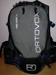 Ortovox Free Rider 24 Black<small> | recenze (mini test) z 26.11.2017</small>