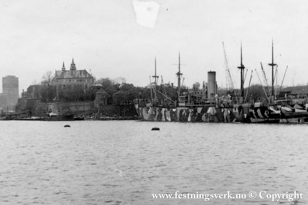 Donau ved kai i Oslo (1)