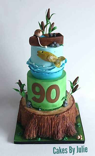 Fishing Themed Cake from Cakes by Julie