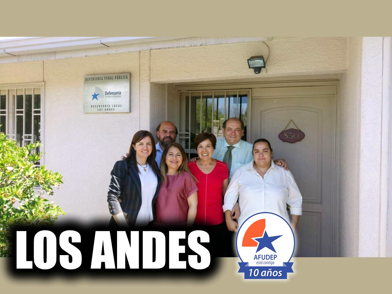 Directorio AFUDEP visita regionales Los Andes, San Fernando y Curicó - 06 Diciembre 2017