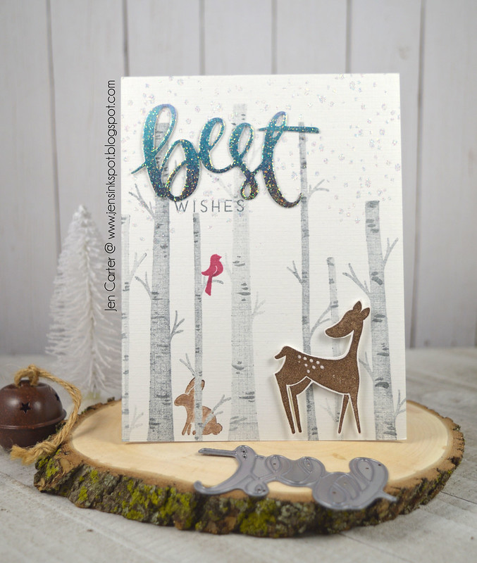 Jen Carter CP Winter Woodland Best Wishes 1
