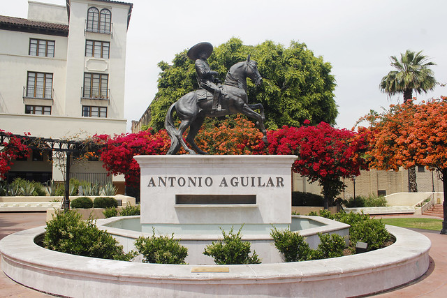 Antonio Aguilar Statue, DTLA