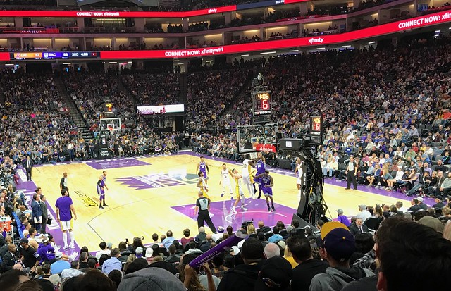 2017 Kings versus Lakers