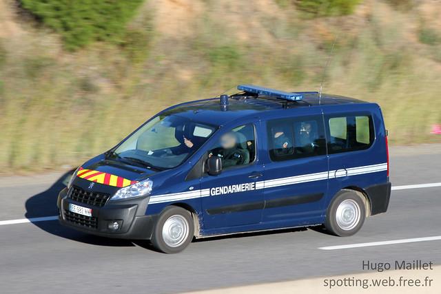 Gendarmerie | Peugeot Expert Tepee