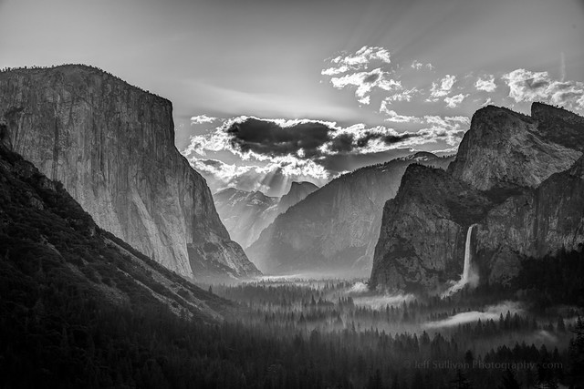 Yosemite Valley Morning Light
