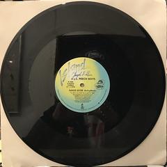 N.Y.C. PEECH BOYS:DANCE SISTER(BIOFEEDBACK)(RECORD SIDE-B)